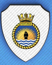 HMS VENTURER WALL SHIELD