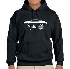 1964 1965 1966 AMC Marlin Classic Car Design Hoodie Sweatshirt FREE SHIP