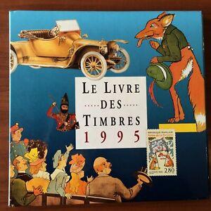 Livre de l'année LA POSTE 1995 avec tout les timbres