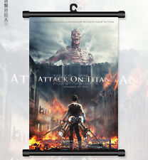 "8""*12"" Home Decor Japanese Anime Attack on Titan Wall Poster Scroll 12"