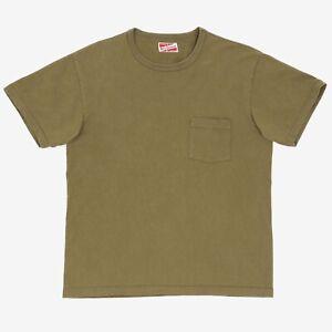 The Real McCoys Joe McCoy Sportswear Khaki Pocket T Shirt Size 40