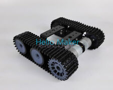 New Robot Tank Chassis Tracked Vehicle Base For Arduino Smart Car DIY