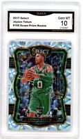 JAYSON TATUM 2017-18 Panini Select Prizm Scope Rookie Card RC GMA 10 Gem Mint