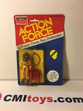1983 GI JOE / ACTION FORCE Q-FORCE DEEP SEA DEFENDER carded figure