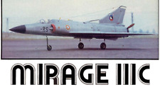 Mirage IIIC   Giant Scale RC AIrplane Printed Plans & Templates