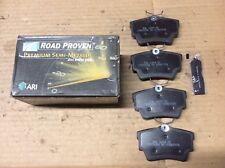 New ARI Roadproven 62-D808A Premium Semi-Metallic Disc Brake Pad Pads