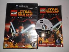 LEGO Star Wars: The Video Game (Nintendo GameCube, 2006) COMPLETE w/ Manual