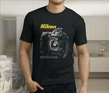 New Popular Professional Nikon Photography Men's Black T-Shirt S-3XL