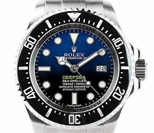 ROLEX SEA-DWELLER DEEPSEA CUSTOM BLUE DIAL - DIVERS WATCH 116660 44MM 12,800FT