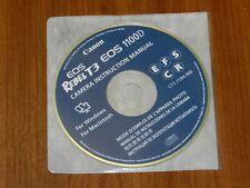 Genuine OEM Canon EOS REBEL Digital T3 1100D Disk - CT1-7194-000