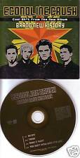 ECONOLINE CRUSH RARE 4 Song SAMPLER PROMO DJ CD Single