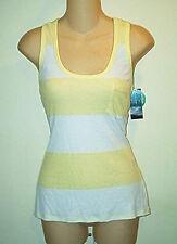 INC  NWT  Striped Pocket Ribbed Tank Top XL