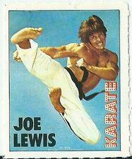 Vignette autocollant 1970 Karate Joe Lewis art martiaux