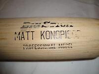 Game Used Matt Konopisos Rawlings Baseball Bat