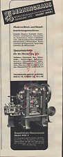 VELBERT, Werbung 1939, Berninghaus Werkzeug-Maschinen-Fabrik Stanzautomat