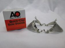 American Optical Detachable Side Shields Safety Wire Mesh Quick Clips F9800 9900