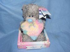 Me To You Bear Plush Rainbow Heart Mint Present Gift AP701024 Tatty Teddy
