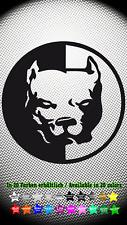 Pit Bull Hund Dog Hardcore Aufkleber Sticker 10cm x 10cm