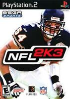 NFL 2K3 PS2 Game Used