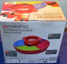 "ROT Trittschemel ""Paso"" Küche Büro Badezimmer Hilfe Stabil Rutschfest Garage Neu"