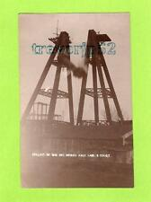 More details for falling of axle big wheel earl's court  london fairground rp pc 1907 ref c135