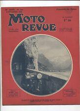 Moto Revue N°809 ; 9  septembre 1938  :  chassis de sidecar