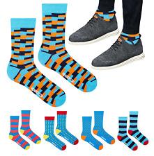 Herren Socken Henderson CORE TETRIS Gemusterte Socken Hipster Mix Gr: 39-46