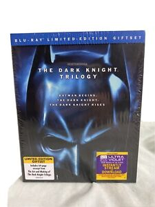 The Dark Knight Trilogy (Blu-ray Disc, 2012, 5-Disc Set, Limited Edition) New