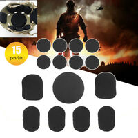 15Pcs Helmet Airsoft Military Tactical Protective Pads Protector for CP Helmet