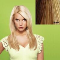 """Jessica Simpson HairDo Ken Paves 22"""" Straight Hair Extensions clip OPEN BOX"""