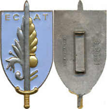 Ecole du Commissariat de l'Armée de Terre, fond bleu clair, F.I.A. 3381 (6720)