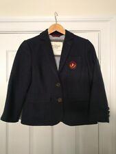 Abercrombie & Fitch Wool Coat Jacket Dark Blue Women's Size M