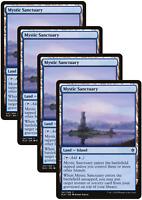 4X Mystic Sanctuary Playset Throne of Eldraine Magic ELD MTG NM FREE SHIP
