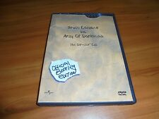 Army of Darkness (Dvd 2001 Official Bootleg Ed.) Bruce Campbell Used (Evil Dead)