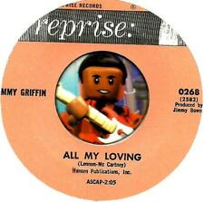JIMMY GRIFFIN ALL MY LOVING BEATLES ROCKABILLY TEEN OLDIES 45 RPM RECORD