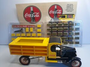 Danbury Mint 1927 Ford TT Open Cab Coca-Cola Delivery Truck Die-cast 1:24 Scale