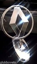 OEM Renault Emblem Ornament Hood Metal Chrome Renault Badge Logo Extremely Rare