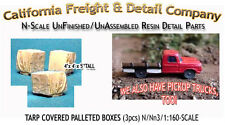 California Freight Tarp Covered Palleted Boxes (3pcs) N/1:160