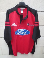 Maillot rugby CRUSADERS ADIDAS shirt rouge Super 12 vintage XL