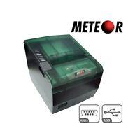 STAMPANTE TERMICA 80MM METEOR SPEEDY USB SERIALE RS232 NUOVA SCONTRINI CASSA.