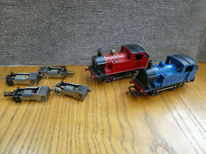 OO Gauge Triang 0-4-0 Industrial Tank Locos & Motors Spares or repairs