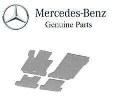 For Mercedes-Benz W211 E Class Carpeted Floor Mat Set Gray Genuine B66294138