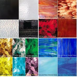 """Mosaic Glass or Stained Glass sheets (4""""x6"""") -  Variety packs_Free Shipping"""