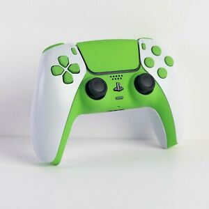 New Custom Sony PlayStation 5 Soft Touch Green PS5 Dualsense Wireless Controller