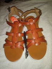 Wonder Nation Sandals For Girls Size 1 and 4 New