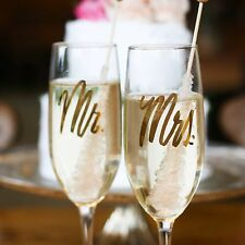 Easy Tiger Mrs. & Mr. Champagne flutes (Set)