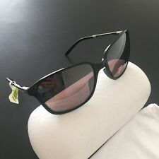 Oakley Game Changer Black Silver Rectangular Polarized Sunglasses OO9291-03 NWT