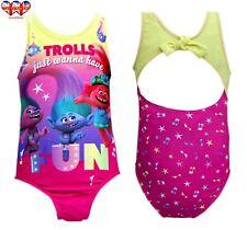 Troll Costumi da bagno, ragazzi Costume da bagno, bikini, con licenza ufficiale, dimensioni 4 (4-8 anni)