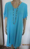 NWT BLUE COLD SHOULDER DRESS SIZE 18