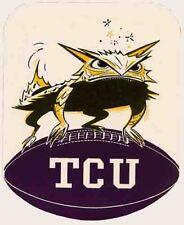 TCU  Texas Christian  University  College  Vintage Looking Travel Decal Sticker